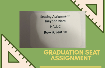 Graduation Seating Assignments